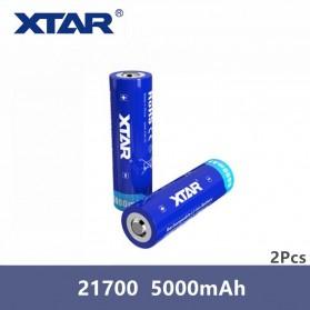 Xtar 21700 Baterai Li-ion 5000mAh 3.6V - Blue - 2