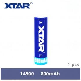 Xtar 14500 Baterai Li-ion 800mAh 3.7V - Blue
