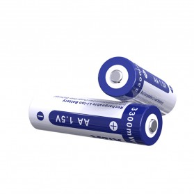 Xtar Baterai AA Li-ion 3300mAh 1.5V - Blue - 3