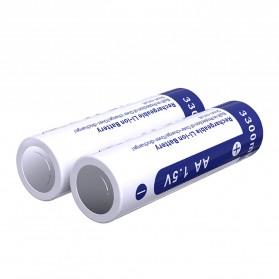 Xtar Baterai AA Li-ion 3300mAh 1.5V - Blue - 4