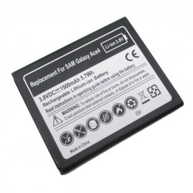 Replacement Battery for Samsung Galaxy Ace 4 Li-ion 1500mAh 3.8V - Black 5712375741