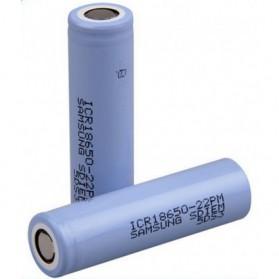 Samsung ICR18650-22P Lithium Ion Battery 3.7V 2200mAh (14 Days) - Purple