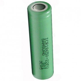 Samsung ICR18650-22FU Lithium Ion Battery 3.7V 2200mAh (14 Days) - Green - 3