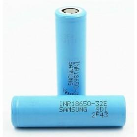 Samsung 32E 18650 Baterai Li-ion 6.4A 3200mAh 3.7V - Blue - 2