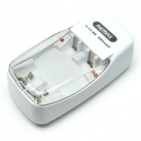 Remax 2 Slot Battery Charger for AA AAA NiMh NiCd - RT-C01 - White