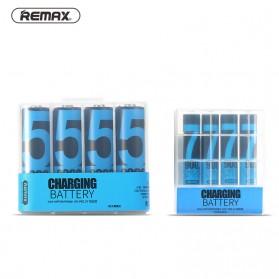 Remax Batu Baterai Cas High Quality AA Battery 2200mAh - 4pcs - Blue