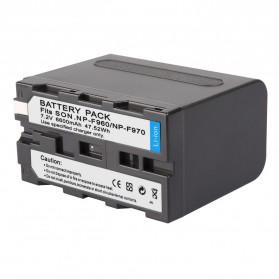 Baterai Kamera Sony NP-F960 NP-F970 - Black - 2