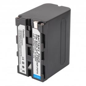 Baterai Kamera Sony NP-F960 NP-F970 - Black - 4
