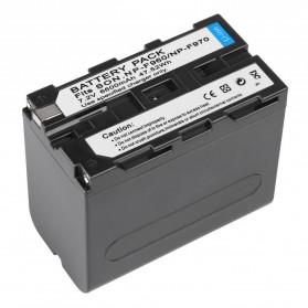 Baterai Kamera Sony NP-F960 NP-F970 - Black - 5