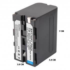 Baterai Kamera Sony NP-F960 NP-F970 - Black - 8