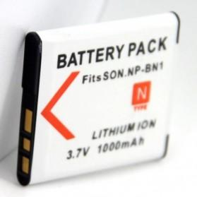 Baterai Kamera Sony Cyber-shot NP-BN NP-BN1 DSC-J20 (Replika 1:1) - Black - 2