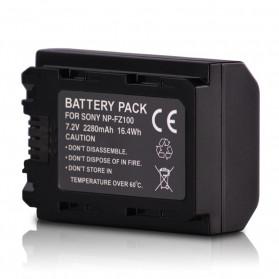 Baterai Kamera Sony NP-FZ100 2280mAh - Black