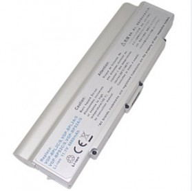 Baterai BPS2C PCG-6C1N BP-51A PCG-505 C1 C2 FE FJ FS FT GT S N505 SZ Series - Versi 6600 mAh (OEM) - Silver