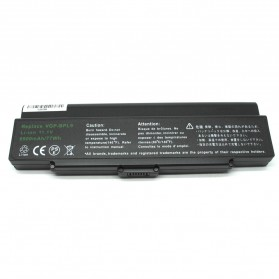 Baterai Sony VGP-BPL9 VGP-BPS9B High Capacity Lithium Ion (OEM) - Black