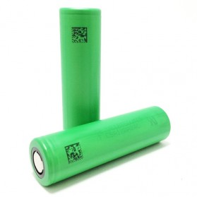 Sony VTC5 18650 Lithium Ion Cylindrical Battery 3.6V 2600mAh - Green - 2