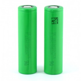 Sony VTC5 18650 Lithium Ion Cylindrical Battery 3.6V 2600mAh - Green - 3