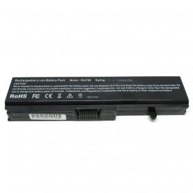 Baterai Toshiba Satellite 5200mAh - PA3780U - Black - 2