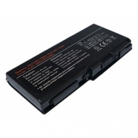 Baterai Toshiba Qosmio X500 X505 Satellite P500 P505 P505D Standard Capacity (OEM) - Black