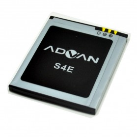 Smartphone Spare Part - Battery for Advan Mobile 1400mAh - S4E