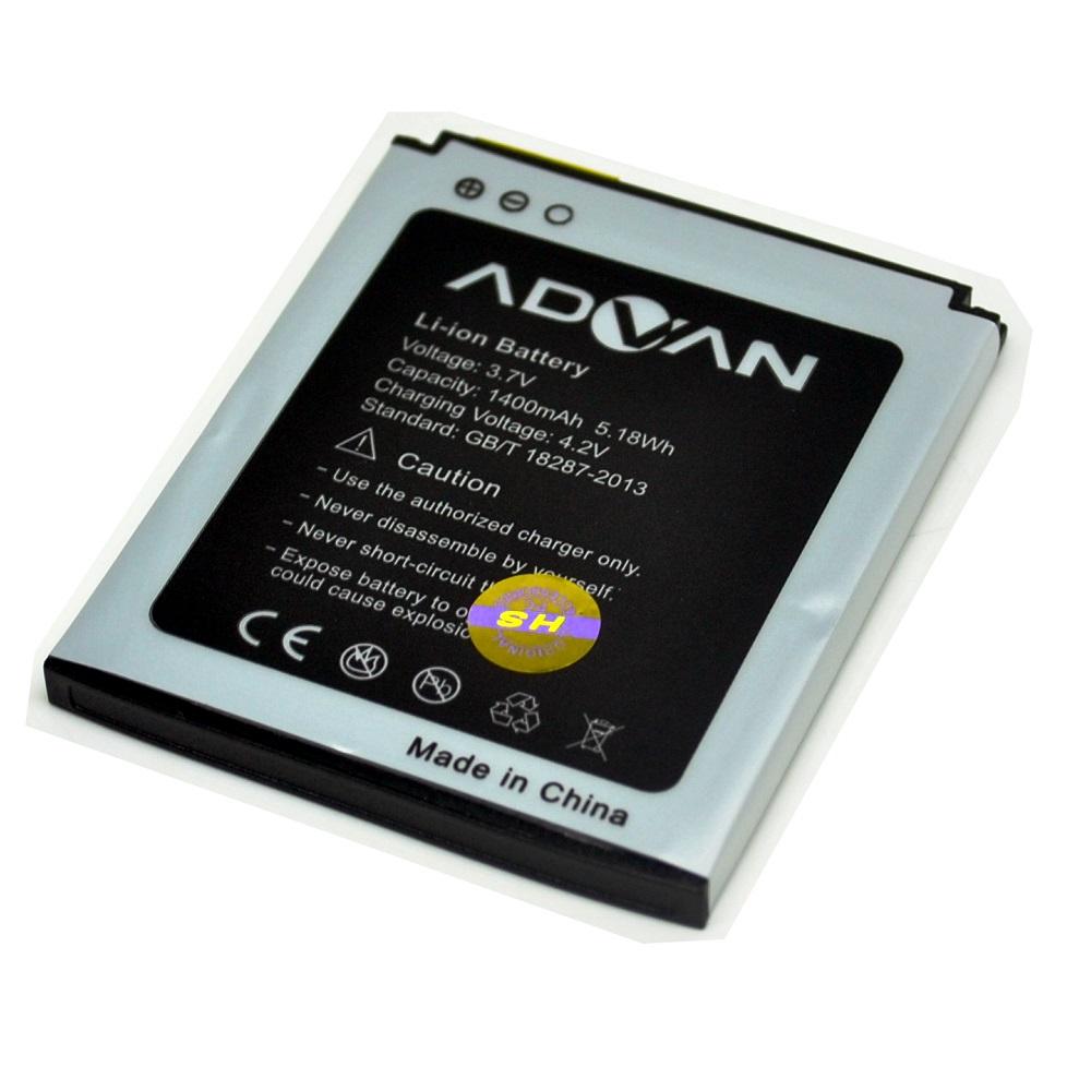 Battery For Advan Mobile 1400mAh