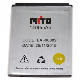 Smartphone Spare Part - Battery for Mito Mobile 1400mAh - BA-00089
