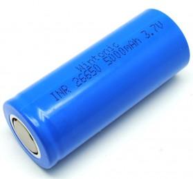 Hame Baterai Li-ion 26650 5000mAh 3.7V Flat Top - Blue - 2