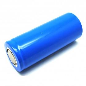 Hame Baterai Li-ion 26650 5000mAh 3.7V Flat Top - Blue - 3