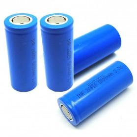 Hame Baterai Li-ion 26650 5000mAh 3.7V Flat Top - Blue - 4