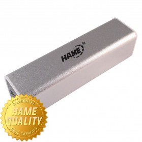 Hame Power Bank 2600mAh Model HAME-MP3 for Smartphone ( MP3 ) - Silver