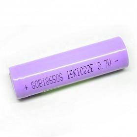 Hame Baterai 18650 INR 3.7V 2200mAh Flat Top - Purple
