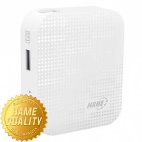 Hame MP6 Power Bank 4400mAh - HAME-MP6 - Silver
