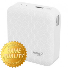 Hame MP7 Power Bank 6000mAh - HAME-MP7 - White
