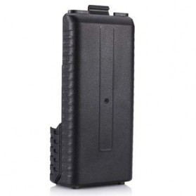 Baofeng Walkie Talkie Battery Case 6xAAA for Baofeng BF-UV5R BF-UV5RB BF-F8 BF-UV8HX TYT TH-F8 Retevis - Black