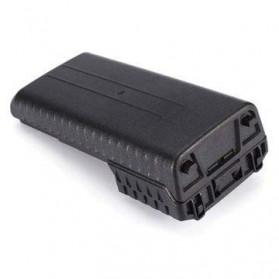 Taffware Walkie Talkie Battery Case 6xAAA for Taffware Pofung Baofeng - Black - 4