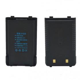 Taffware Baterai Walkie Talkie 4800mAh untuk Taffware Pofung Baofeng BF-UVB2PLUS UV-T8 - Black