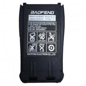 Taffware Pofung Baterai Walkie Talkie 2000mAh untuk UV-B5 UV-B6 - BL-B - Black - 3