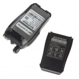 Taffware Pofung Baterai Walkie Talkie 2000mAh untuk UV-B5 UV-B6 - BL-B - Black - 6