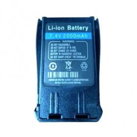 Taffware Pofung Baterai Walkie Talkie 2000mAh untuk UV-B5 UV-B6 - BL-B - Black - 7