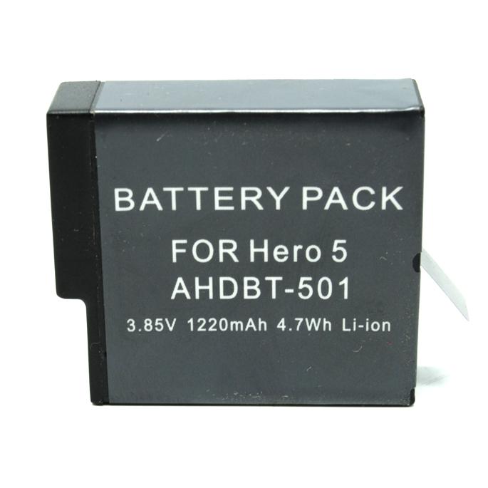 ... Baterai GoPro Hero 5 1220mAh - Black - 1 ...