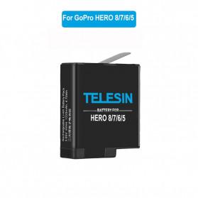 Telesin Baterai GoPro Hero 8 7 6 5 1220mAh - GP-BTR-801 - Black - 2