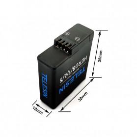 Telesin Baterai GoPro Hero 8 7 6 5 1220mAh - GP-BTR-801 - Black - 6
