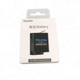 Telesin Baterai GoPro Hero 8 7 6 5 1220mAh - GP-BTR-801 - Black - 7