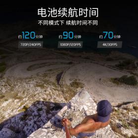 Telesin Baterai GoPro Hero 8 7 6 5 1220mAh - GP-BTR-801 - Black - 8