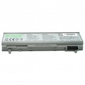 Baterai Dell Latitude E6400 E6400ATG E6500 Precision M2400 M4400 M6400 Standard Capacity (OEM) - Gray Silver