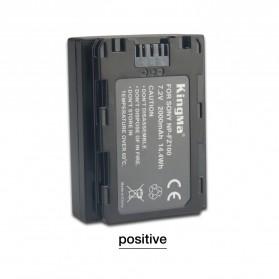 KingMa Baterai Kamera Sony A9 A7R III A7 III - NP-FZ100 - Black - 2