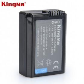 KingMa Baterai Kamera Sony Alpha A6500 A6300 A7 A7R A7R A7R II A7II - KM-FW50 - Black
