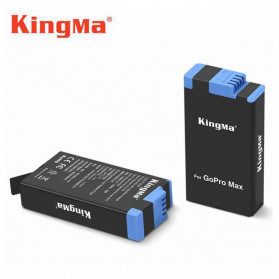KingMa Baterai GoPro Max 1400mAh - SPCC1B - Black