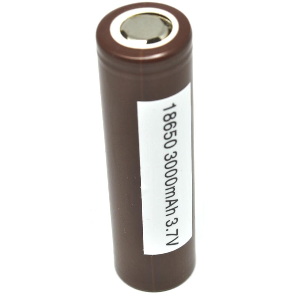 Lg Hg2 18650 Li Ion Battery 3000mah 3 7v With Flat Top