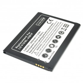 Battery Replacement for LG V10 3000mAh - Black