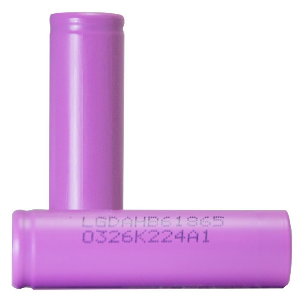 Lg Hb6 18650 Li Ion Battery 1500mah 30a 37v With Flat Top Pink Box Kotak Tempat Baterai 2 Slot